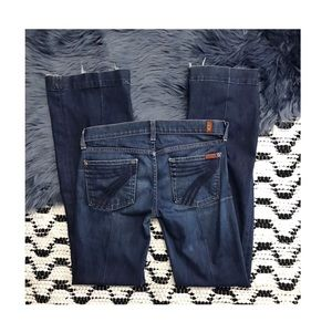 7 for all mankind • dojo flare jeans